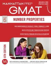 GMAT Number Properties (Manhattan Prep GMAT Strategy Guides) by Manhattan Prep - Paperback - Sixth - 2014-12-02 - from Cronus Books, LLC. (SKU: 210115045)
