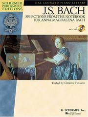 image of J.s. Bach: Selections from the Notebook for Anna Magdalena Bach