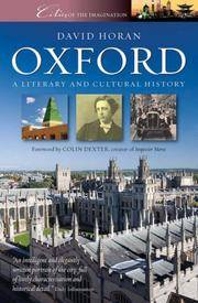 image of Oxford: Cities of the Imagination
