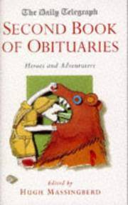 THE DAILY TELEGRAPH SECOND BOOK OF OBITUARIES - HEROES AND ADVENTURERS