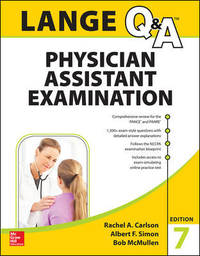 LANGE Q&A Physician Assistant Examination, Seventh Edition