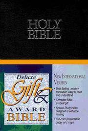 NIV Deluxe Gift & Award Bible GOD