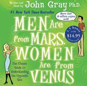 image of Men Are from Mars, Women Are from Venus (Audio CD)