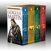 image of A Song of Ice and Fire, Books 1-4 (A Game of Thrones, A Feast for Crows, A Storm of Swords, and A Clash of Kings)