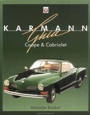 Karmann Ghia Coupe and Cabriolet (Car & Motorcycle Marque/Model)