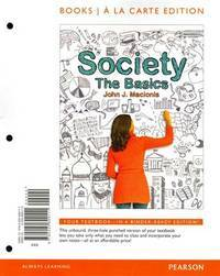 image of Society: The Basics, Books a la Carte Plus NEW MySocLab with eText -- Access Card Package (12th Edition)