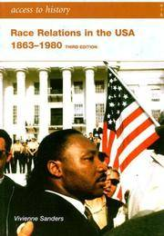 Race Relations in the USA 1863-1980 (Access to History)