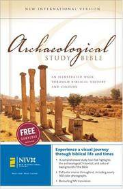NIV, Archaeological Study Bible, Hardcover: An Illustrated Walk Through Biblical History and Culture