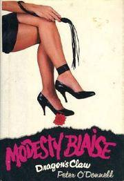 Modesty Blaise: Dragon's Claw.