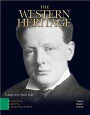 image of The Western Heritage: Teaching and Learning Classroom Edition, Volume 2 (Chapters 13-30) (5th Edition)