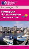 image of Plymouth and Launceston, Tavistock and Looe (Landranger Maps)