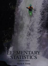 Elementary Statistics, California Edition W Cd