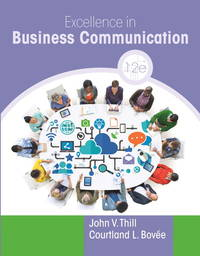 image of Excellence in Business Communication, Paperback, 12th edition