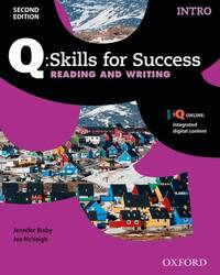 Q SKILLS FOR SUC 2E:INTRO READ AND WRITE
