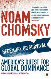image of Hegemony or Survival?: America's Quest for Global Dominance