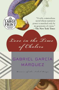 image of Love in the Time of Cholera (Random House Large Print)