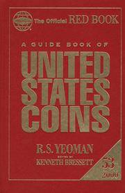 A Guide Book Of United States Coins 2000