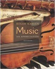 image of Music:  An Appreciation w/ Multimedia Companion 4.5 CD-ROM