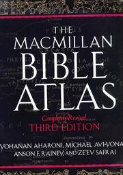 The Macmillan Bible Atlas, Completely Revised Third Edition