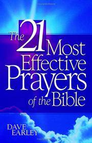 21 Most Effective Prayers in the Bible (Barbour Value Paperback)