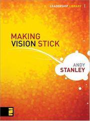 image of Making Vision Stick (Leadership Library)