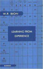 Learning from Experience (Maresfield Library)