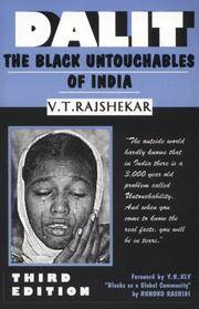 Dalit: The Black Untouchables of India by  V.T Rajshekar - Paperback - from The Book Scouts and Biblio.com