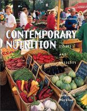 Contemporary Nutrition: Issues and Insights by Gordon M. Wardlaw - Paperback - 2000-01 - from Ergodebooks and Biblio.co.uk