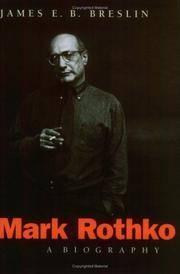 image of Mark Rothko: A Biography