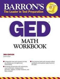 GED Math Workbook (Barron's Math Workbook for the Ged)