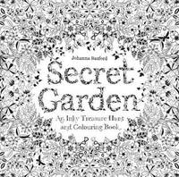 image of Secret Garden: An Inky Treasure Hunt and Coloring Book