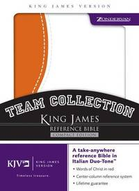 KJV Compact Reference Bible : Team Collection : Orange and White