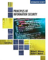 image of Principles of Information Security