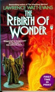 THE REBIRTH OF WONDER