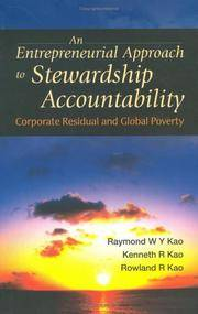 An Entrepreneurial Approach To Stewardship Accountability: Corporate Residual And Global Poverty