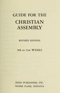 Guide for the Christian Assembly: 9th to 21st Weeks (6) by  Jean  Thierry & Frisque - from Better World Books  and Biblio.com