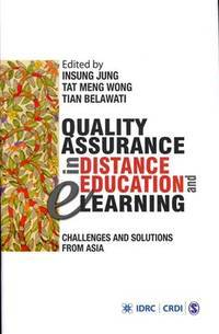 Quality assurance in distance education and e-learning; challenges and solutions from Asia.