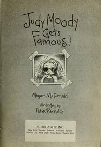 Judy Moody Gets Famous! by McDonald, Megan