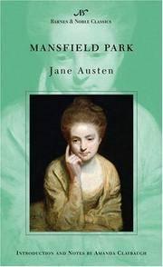 Mansfield Park (Barnes & Noble Classics Series) (B&N Classics) by  Jane Austen - from SecondSale (SKU: 00023284906)