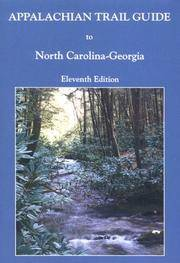 Appalachian Trail Guide to North Carolina - Georgia (Appalachian Trail Guides)