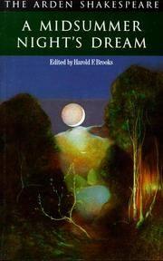 image of Midsummer Night's Dream (Arden Shakespeare)