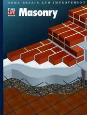 image of Masonry (HOME REPAIR AND IMPROVEMENT (UPDATED SERIES))