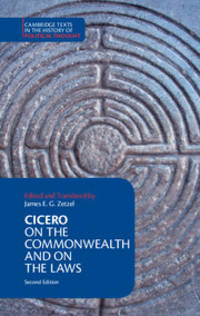 image of Cicero: On the Commonwealth and On the Laws (Cambridge Texts in the History of Political Thought)