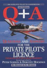 Q + A: Questions and Answers for the Private Pilot's Licence (Air Pilot's Manuals)