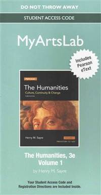 image of NEW MyLab Arts with Pearson eText -- Standalone Access Card -- for The Humanities: Culture, Continuity and Change, Volume I
