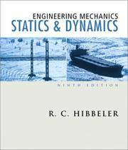 image of Engineering Mechanics: Statics And Dynamics (9th Edition)