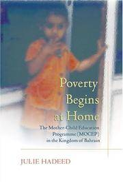 Poverty Begins At Home by Hadeed - Hardcover - 2004 - from Channel Publications and Biblio.co.uk