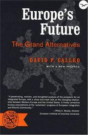 Europe's Future: The Grand Alternatives