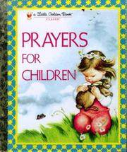 image of Prayers for Children (Little Golden Book)