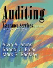 image of Auditing and Assurance Services: An Integrated Approach